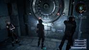 Balouve Mines Sealed Door in FFXV