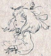 Eiko Rough Sketch