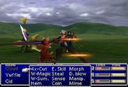 FFVII Cid Attack