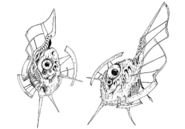 Gaudium's defense satellites concept for Final Fantasy Unlimited