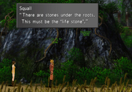 Life Stone location in Shumi Village from FFVIII Remastered
