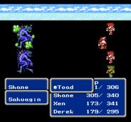 FFIII NES Toad
