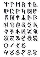 Terran Script FFIX Art