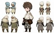 BDFF Characters