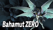 Bahamut ZERO Smash Bros Splash Card
