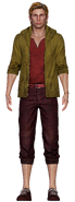 Betty's father from FFVII Remake render