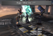 Biggs and Wedge blown away in FFVIII R