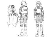 Cid sketches 1 for Final Fantasy Unlimited