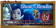 FFRK Show of Resolve Event