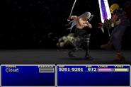 FFVII Sephiroth Attack