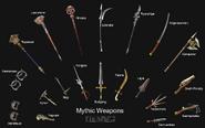 FFXI Mythic Weapons