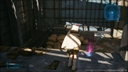 HP Up materia in Sector 7 outskirts from FFVII Remake INTERmission