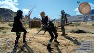 Link attack With prompto