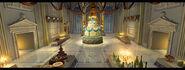 Castle Alexandria Banquet Room by Alberto Forero