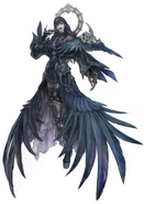 Gaia as Oracle of Darkness from FFIX concept art