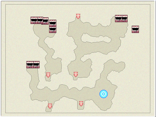 FFIVDS Sylph Cave B1 Map.png