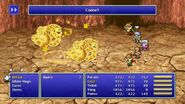 Palom and Porom using Comet Twincast from FFIV Pixel Remaster