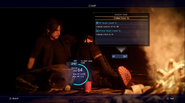 Chapter 14 camping with Umbra in FFXV
