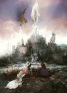 War of Visions FFBE key art
