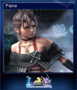 FFXX2 HD Steam Card Paine