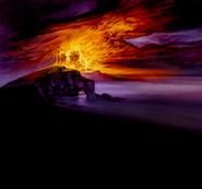 Ziekden Fortress Ablaze