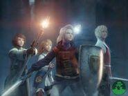 FFIII warriors of light