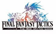 Final Fantasy Tactics Lion War logo