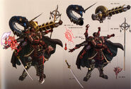 Gilgamesh Weapons 2 Art T0