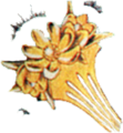Gold Hairpin FFII Art