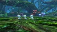 WoFF Pyreglow Forest Battle Background