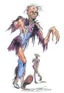 Amano Zombie FFII (color)