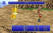 BLM using Thunder from FFIII Pixel Remaster