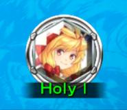 FFDII White Mage Holy I icon