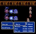FFIII NES Warp