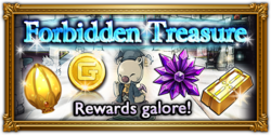 Forbidden Treasure's global release banner