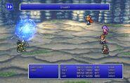 Firion using Dispel I from FFII Pixel Remaster