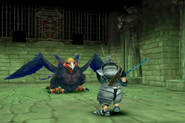 Griffin battle in Treno weapon shop from FFIX Remastered