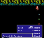 Item drop FF3 NES