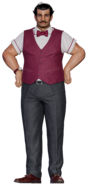 Johnny's father from FFVII Remake render