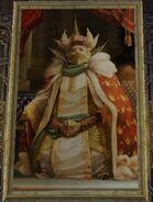 King of alfitaria portrait