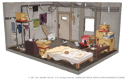 Wedges house from FFVII Remake concept art