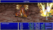 FF4PSP Enemy Ability Lightning