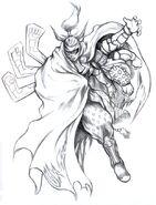 Gilgamesh FFVIII Sketch