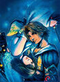 FFX-TidusYuna artwork