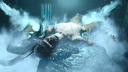 Sleeping Ifrit in FFXV Episode Ardyn