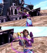 Yuna Gun Mage Victory Pose