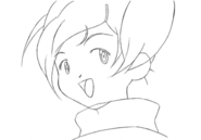 Ai sketch 1 for Final Fantasy Unlimited