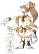 Cleyran Dancer FFIX Art