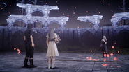 Noctis Sarah and the Eroder in FFXV x Terra Wars collab