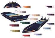 Pist's Car palette concept for Final Fantasy Unlimited